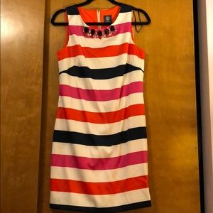 Vince Camuto stripped dress